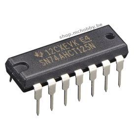 74AHCT125 - 4x Level Shifter (3v à 5v)