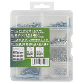 Bolt & screw set - 330 items