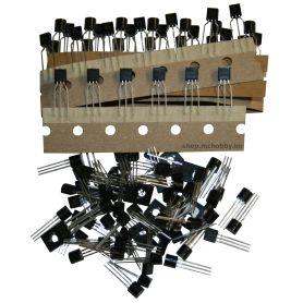 Kit de 100 transistors NPN & PNP