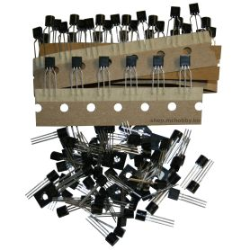 Transistor kit NPN & PNP - 100 items