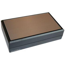 TENCLOS Flat Case - Black  + ALU - 145 x 85 x 37