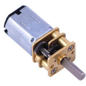 Micro moteur 1000:1 LP - Axe 3mm D - engrenage métal