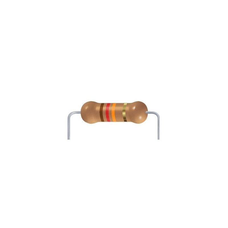 12 KOhms resistor - 10 items