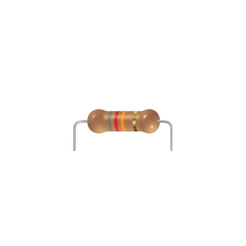 82 KOhms resistor - 10 items