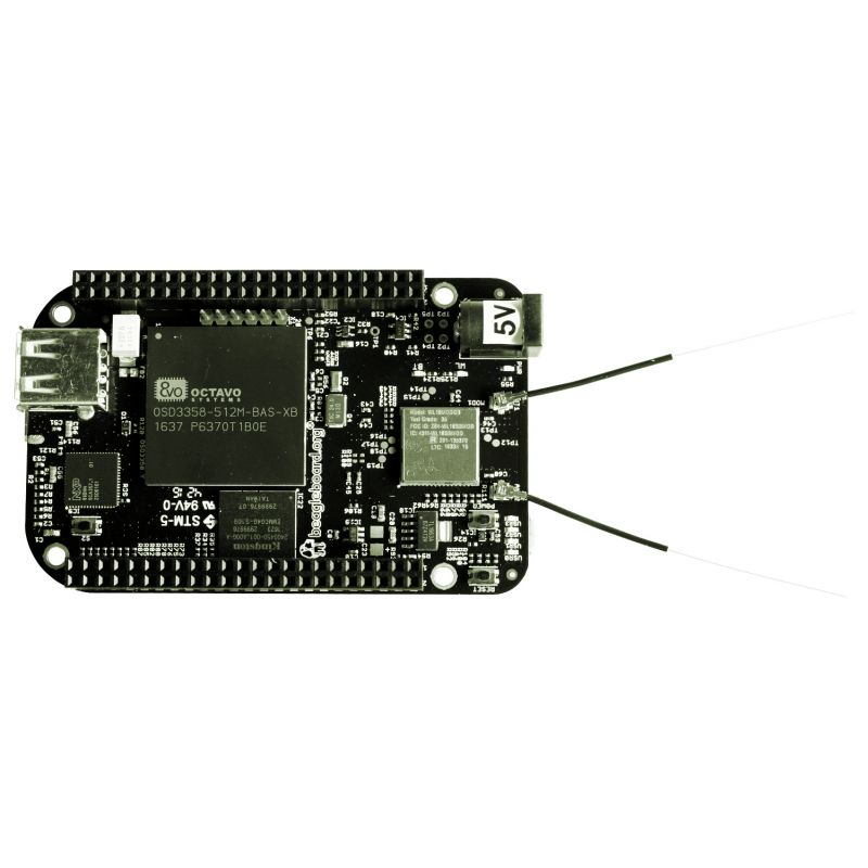 ▷ BeagleBone Black Wireless + USB cable - MCHobby - Vente