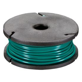 Single-strand GREEN wire coil - 7.50m