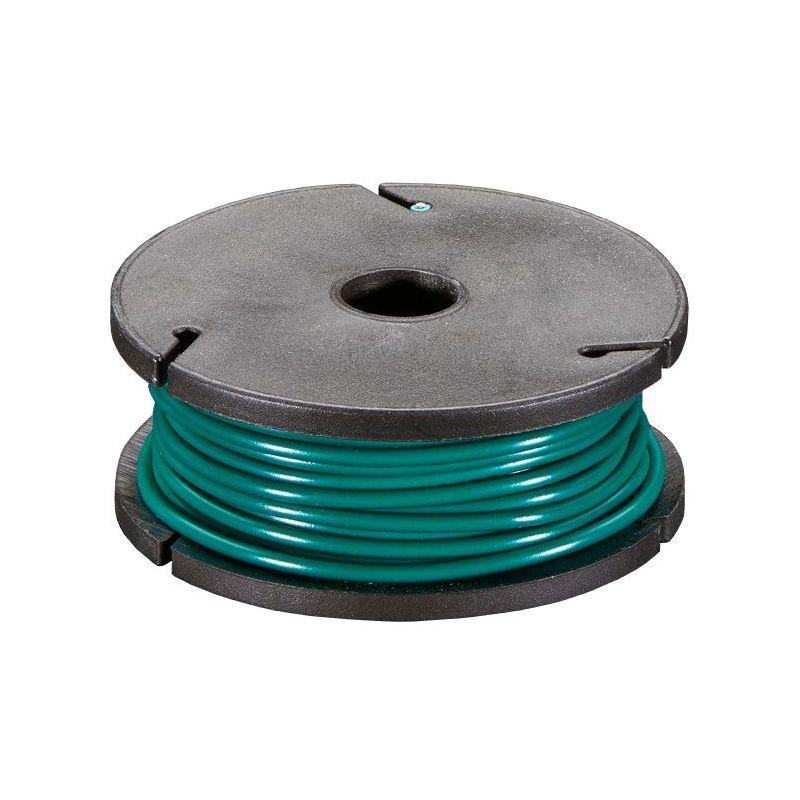 [T] - Bobine de fil ROUGE uni-brin - 7.50m