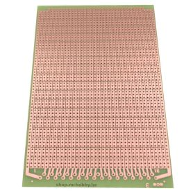 EUROCARD Prototyping board - 100 x 160mm - 3 holes