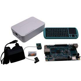 Kit démarrage Pine64+ - 2Gb - WiFi - Boitier - Clavier - Alim