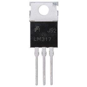 LM317 Régulateur ajustable 1.2V-37V, 1.5A