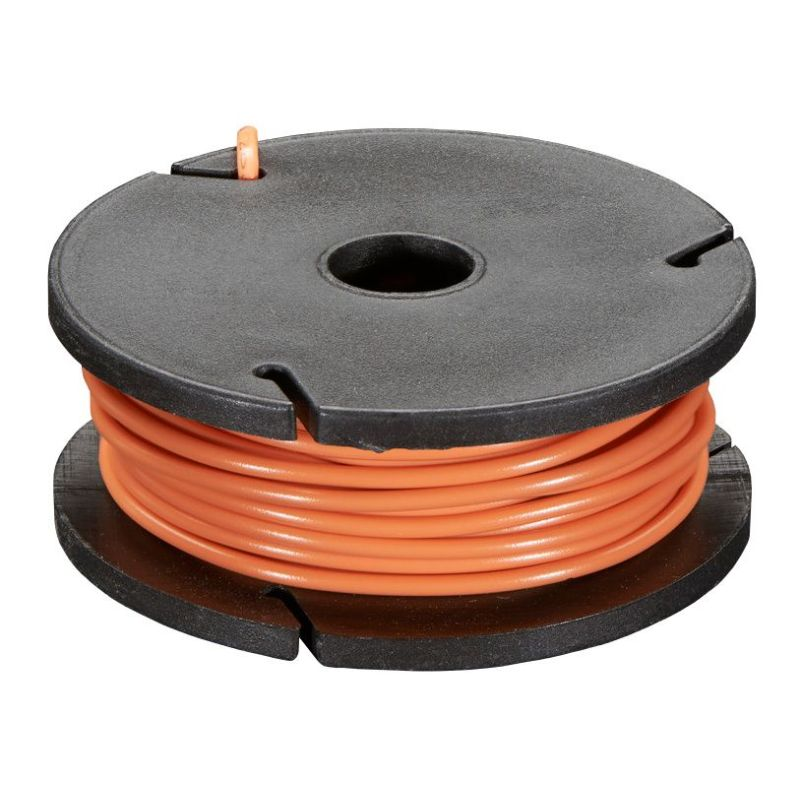 Solid-core ORANGE wire spool - 7.50m