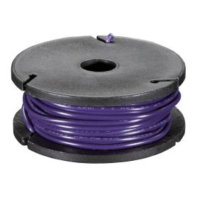 Solid-core VIOLET wire spool - 7.50m