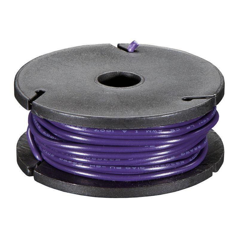 Bobine de fil VIOLET uni-brin - 7.50m