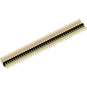 1 x Pin Header 2 RANGS de 40 broches coudé