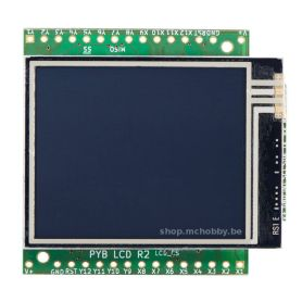 Touch LCD screen for MicroPython PyBoard (V1.1)