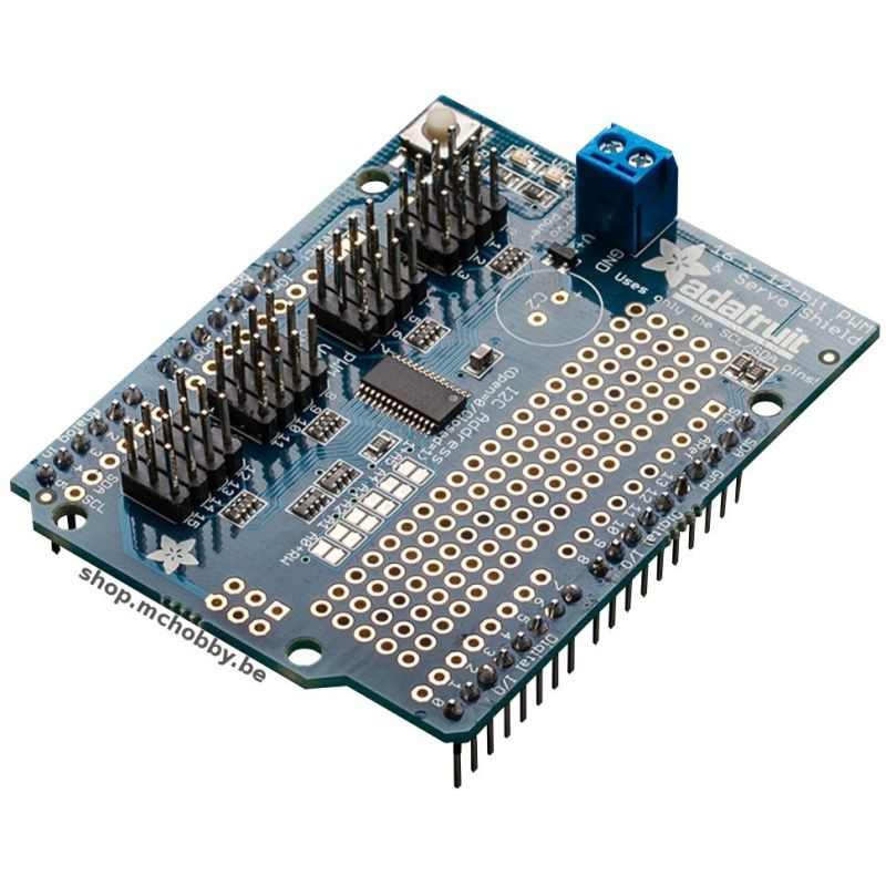 PWM/Servo shield 16 channel for Arduino