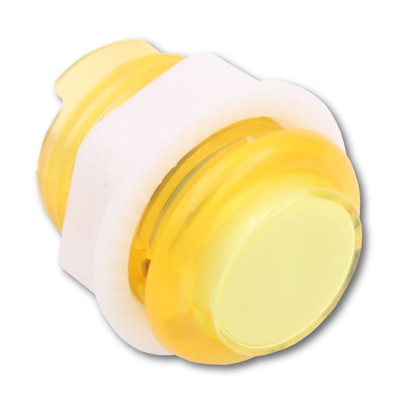 Arcade Button - Yellow LED - Translucent 24mm