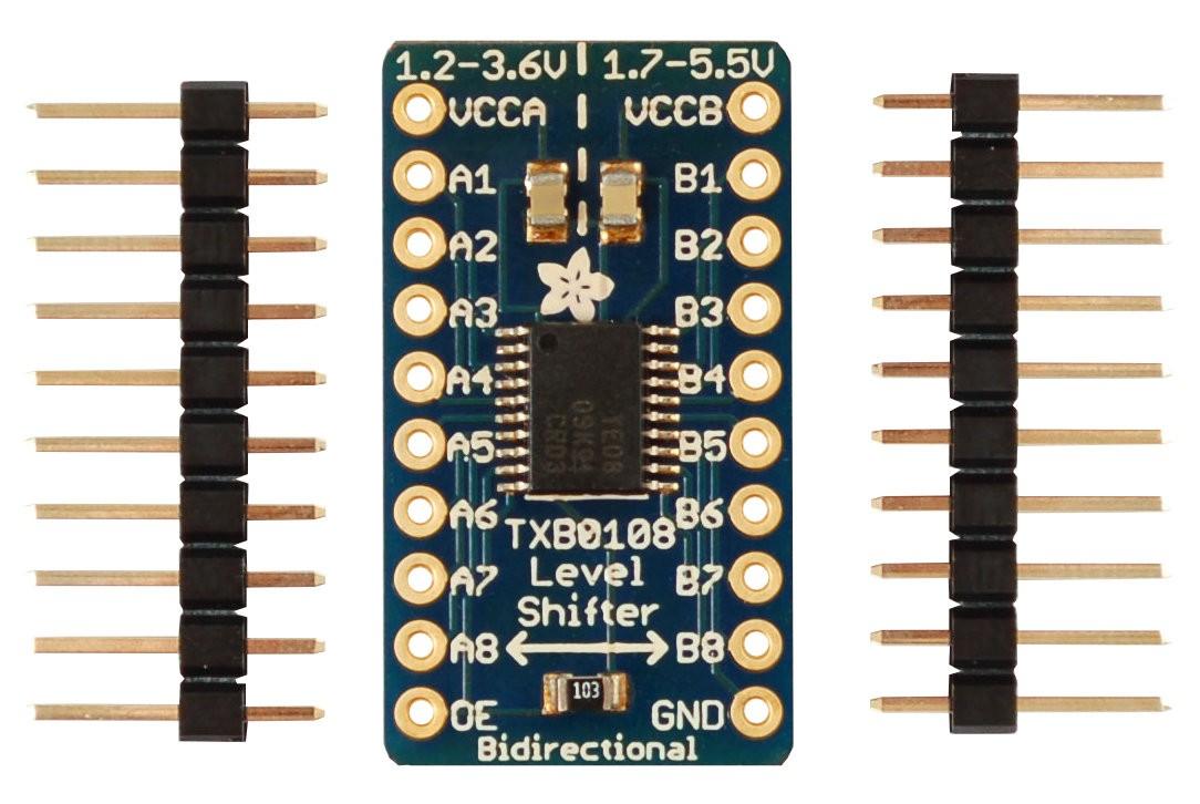 2X Arduino 8 Channel 8-Bit Logic Level Bi-directional Converter Module TW