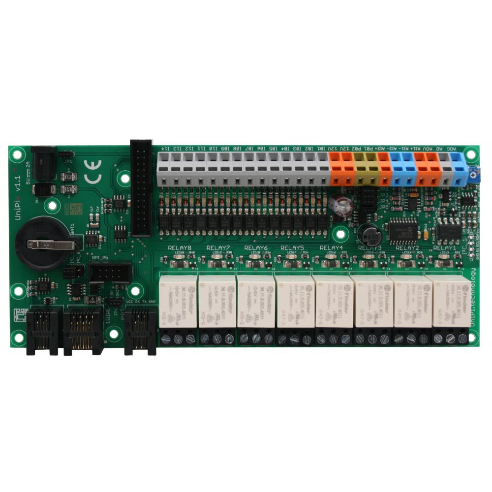 ▷ UniPi 1 1 extension for Raspberry-Pi - MCHobby - Vente de