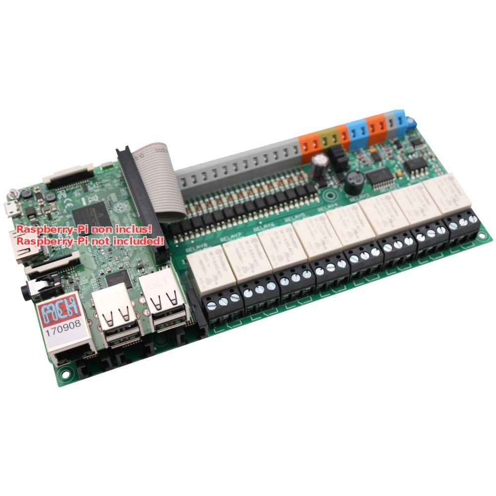 ▷ UniPi 1 1 extension for Raspberry-Pi - MCHobby - Vente de