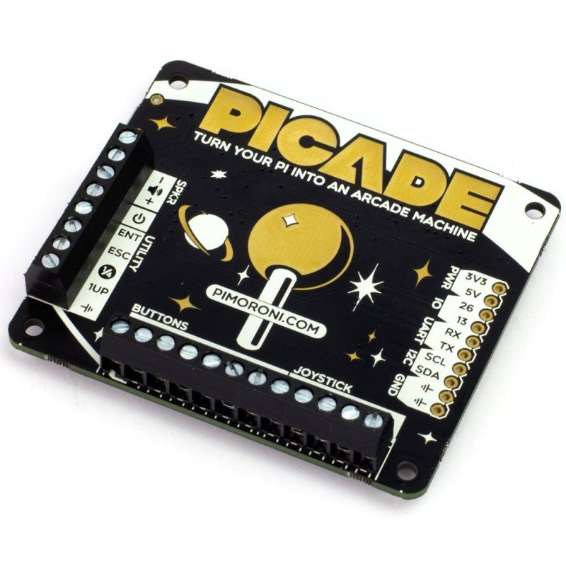 Picade Hat - RetroGaming controler