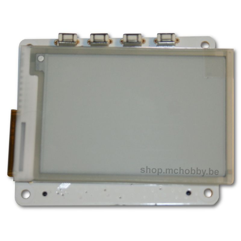 HAT eInk displau  (large) - PaPiRus ePaper
