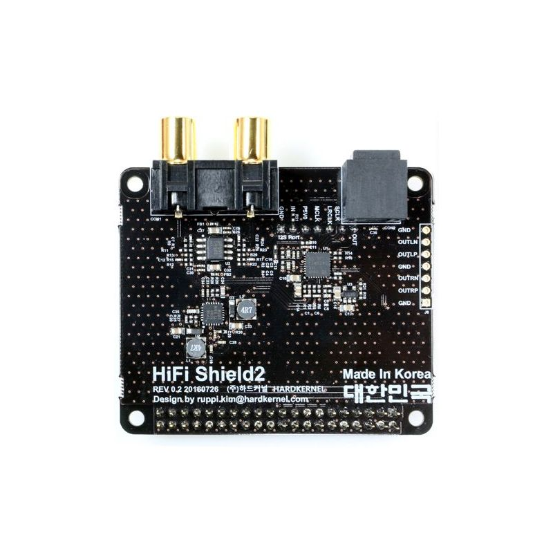 HiFi Shield 2 for ODroid C1+ & C2