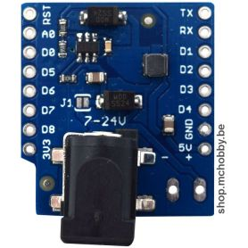 DC Power Shield for Wemos D1