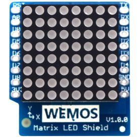 Matrix LED shield for Wemos D1