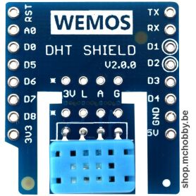 Shield DHT12 for Wemos D1 - temperarure and humidity sensor
