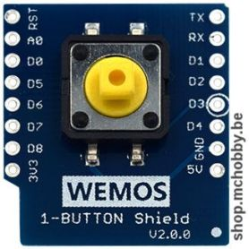 1-button shield for Wemos D1