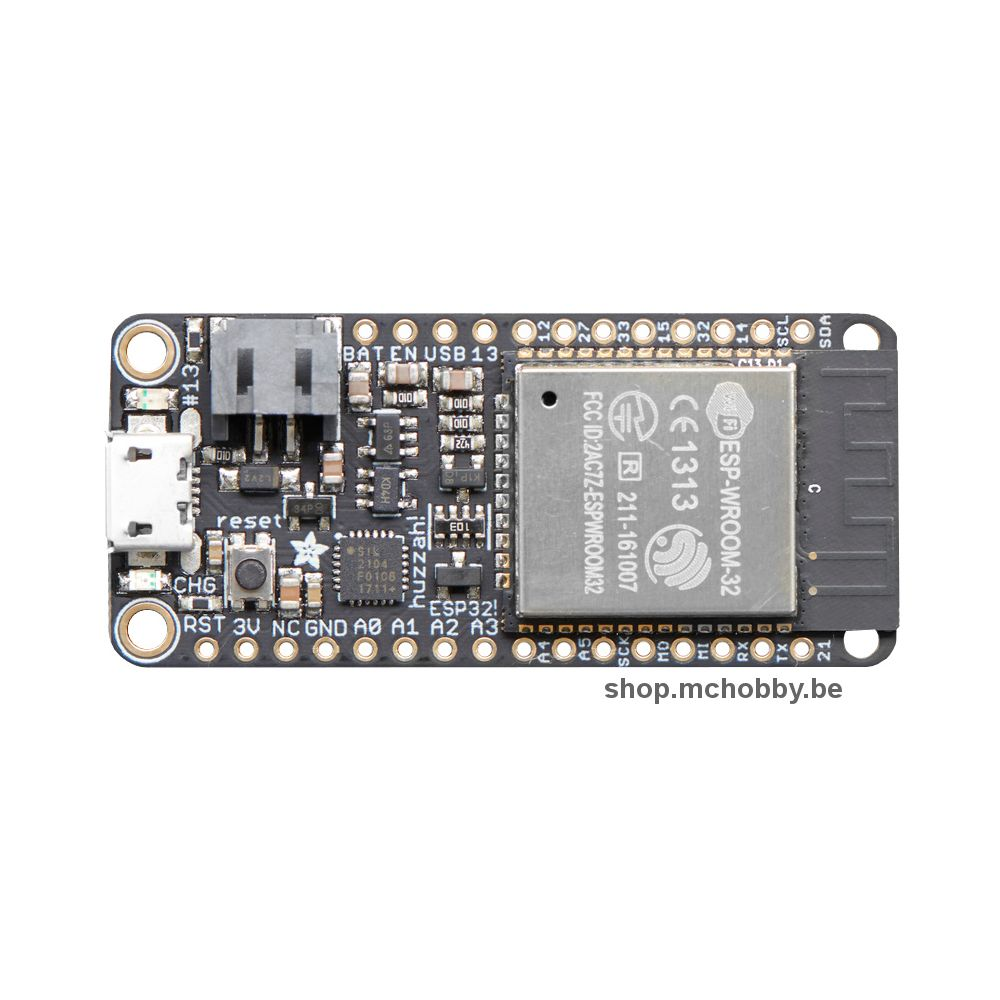 ▷ ESP32 Feather Board - HUZZAH32 - MCHobby - Vente de Raspberry Pi