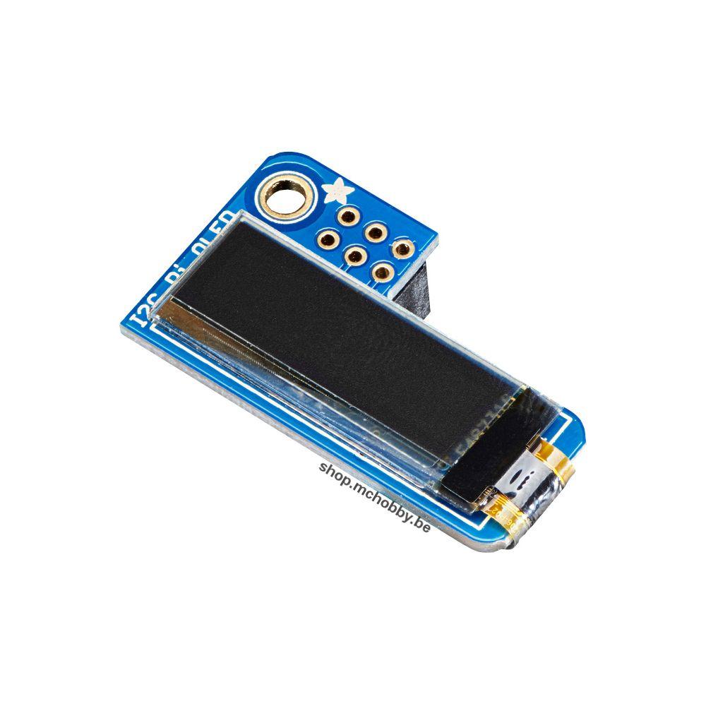 ▷ PiOled - Ecran OLED 128x32 pour Raspberry Pi - MCHobby
