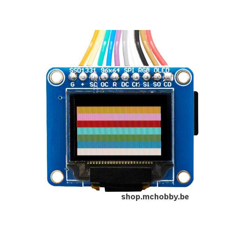 Aff. Graphique OLED 96x64 couleur 16 bits