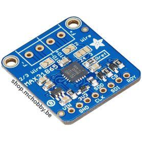 Amplificateur PT1000 - senseur de température RTD, MAX31865