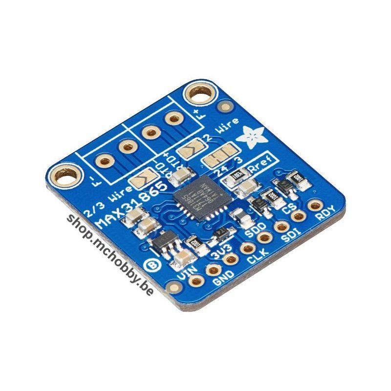 Amplificateur Senseur de température PT1000 RTD, MAX31865