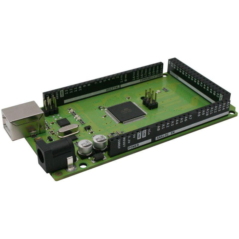 GREEN - ATmega2560 (compatible Arduino Mega R3)