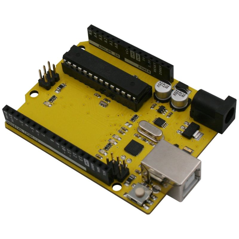 YELLOW - ATmega328 (Compatible with Arduino Uno R3)