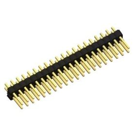 1 x connecteur mâle 2x20 broches droit (normal)