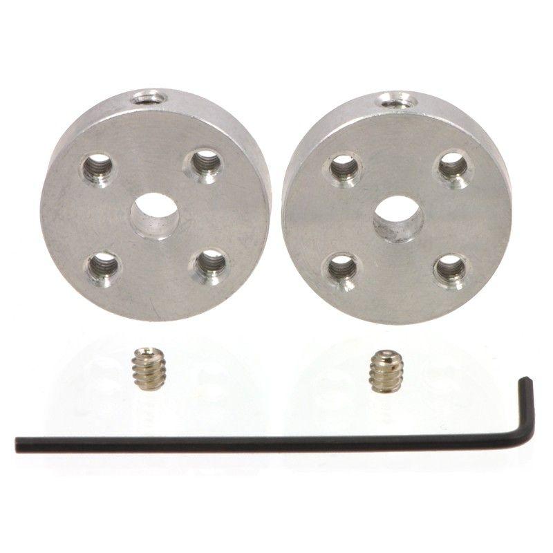 Coupleur/Hub axe 4mm - vis 4-40