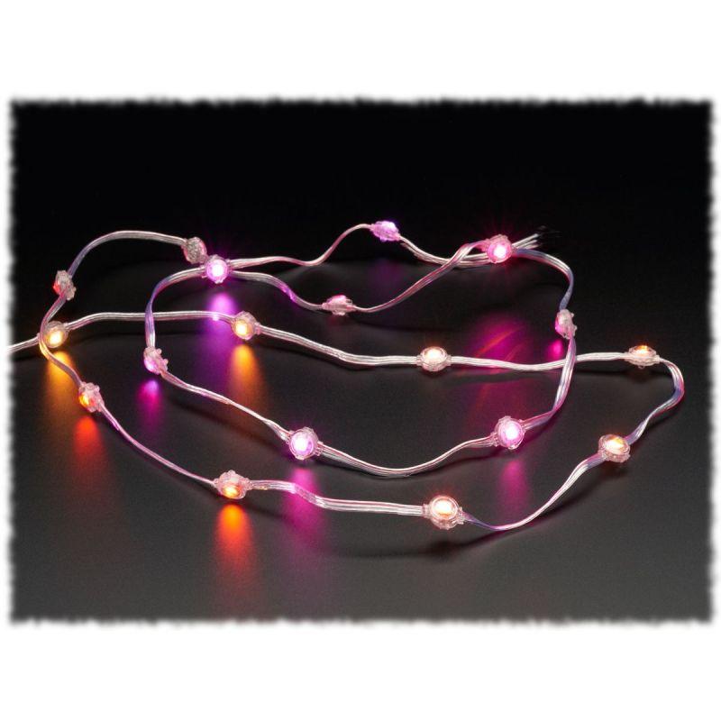Guirlande LED RGB Neopixel - 20 LEDs - Empat. 10cm (STRAND)