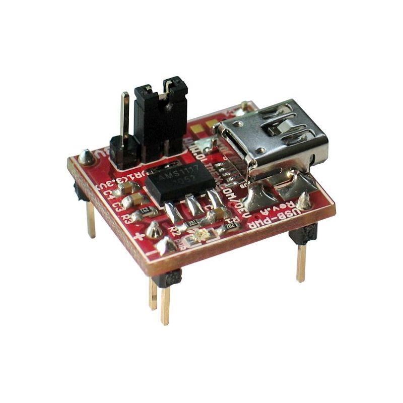 Alimentation 5V / 3.3V compatible Breadboard depuis USB