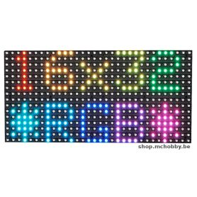 Matrice LED RGB - 16x32 - empattement 5mm
