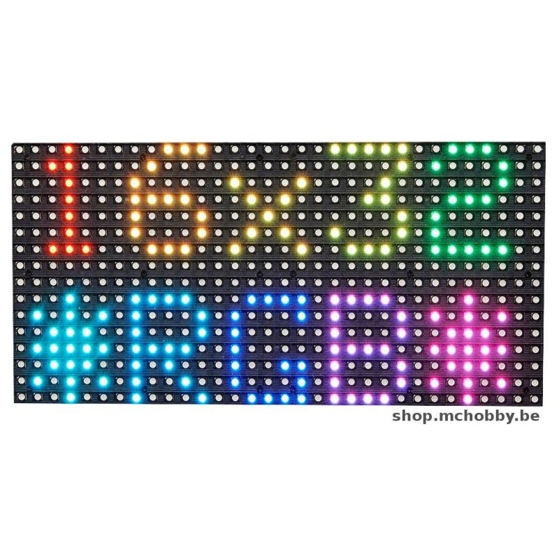 Matrice 16x32 LED RGB - empattement 6mm