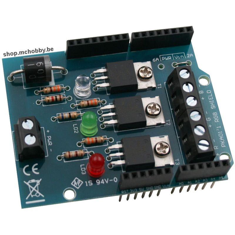 RGB Shield pour Arduino