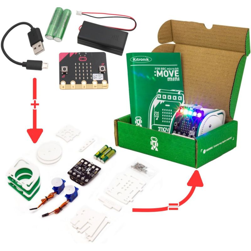 Kit Micro:bit Xplorer avec Move:mini