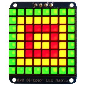 8x8 Bi-color LED matrix - I2C - 30mm