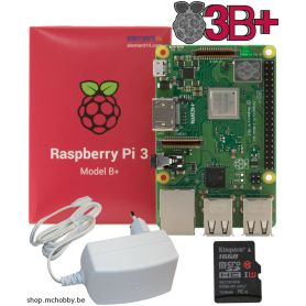 Raspberry Pi 3 B PLUS - Essentiel Pack (Pi 3 B Plus inclus)