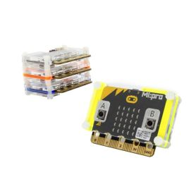 Boîtier de protection Micro:bit - vert fluo