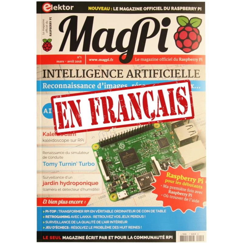 Le MagPi French Version n° 1